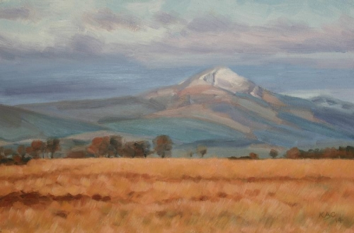 Ben Lomond, melting snow 2