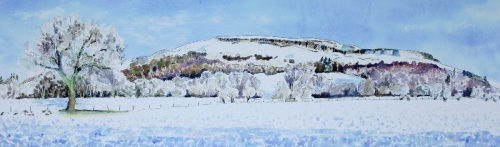 'Fintry Hills. Snow 1'