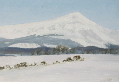 Ben Lomond in Snow