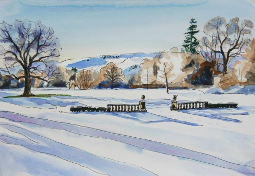 'Snow & Frost at Culcreuch Castle'