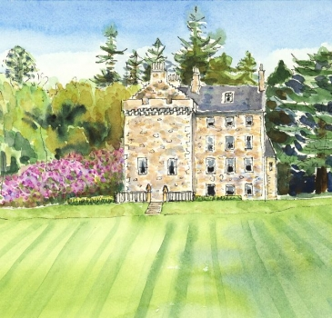 'Summer at Culcreuch Castle'