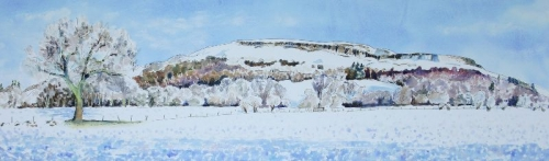 'Fintry Hills, Snow 1'