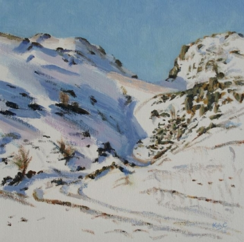 'Dunmore Hill path, Winter 2'