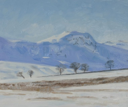 'Campsies in snow'