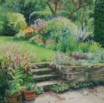 'The artist's garden'. Sold out.